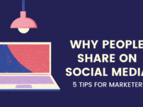 Why People Share on Social Media: 5 Tips for Marketers